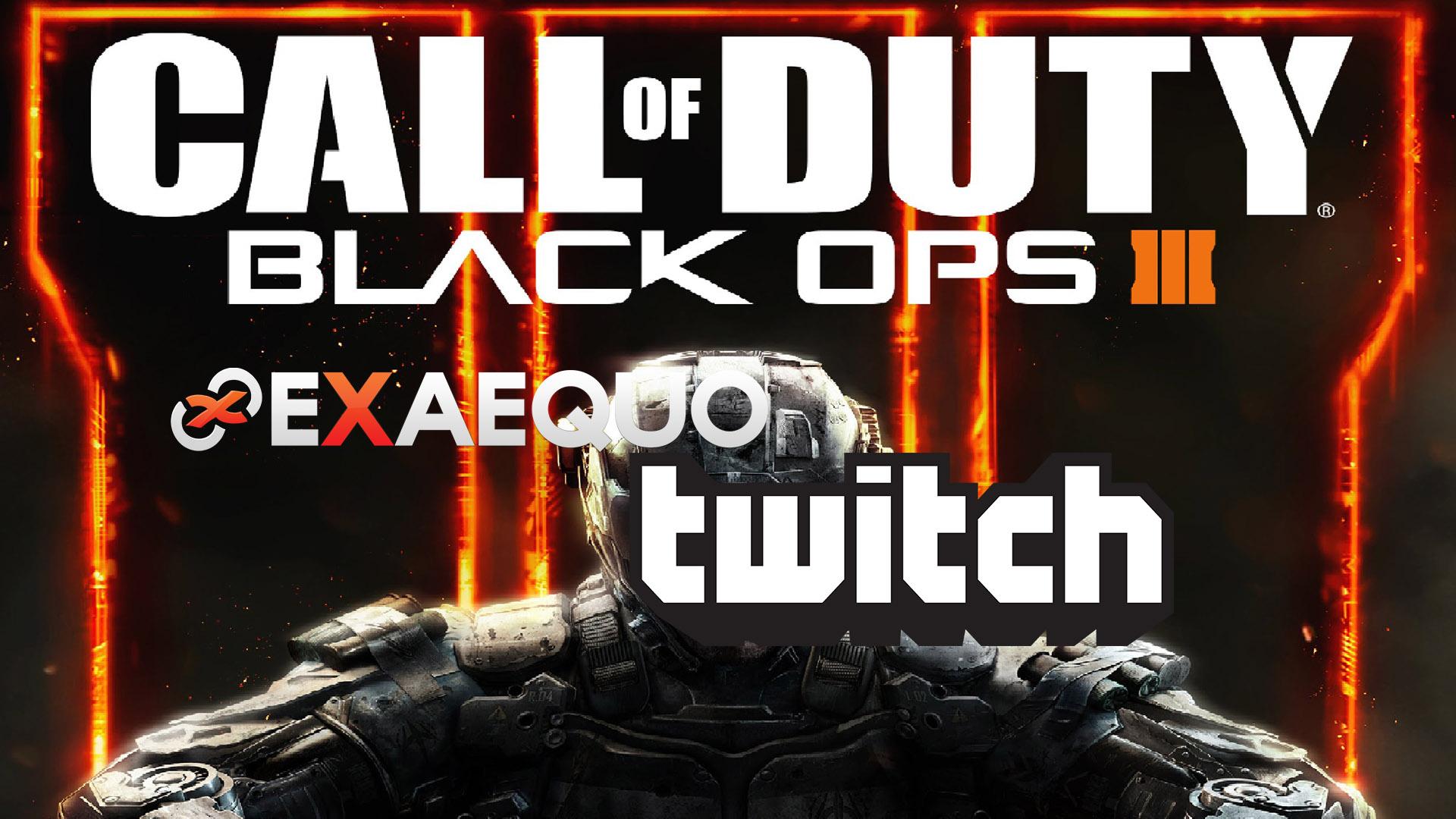 ExAequo Black Ops 3 sbarcano su Twitch
