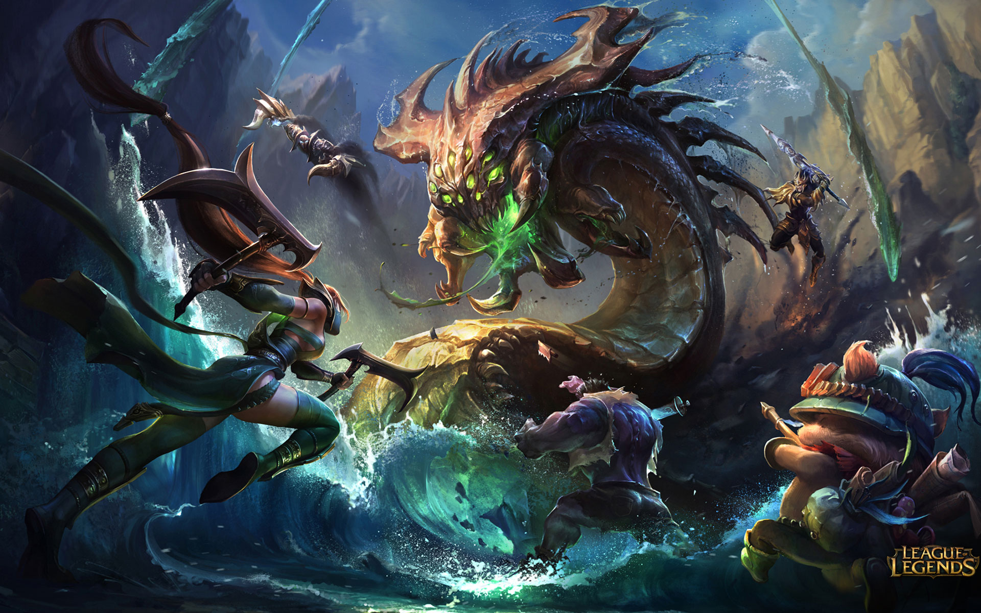 League of Legends - Roster Ufficiale