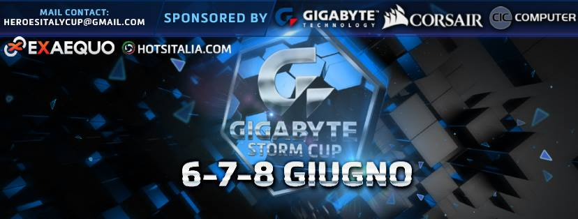GIGABYTE Storm Cup #1