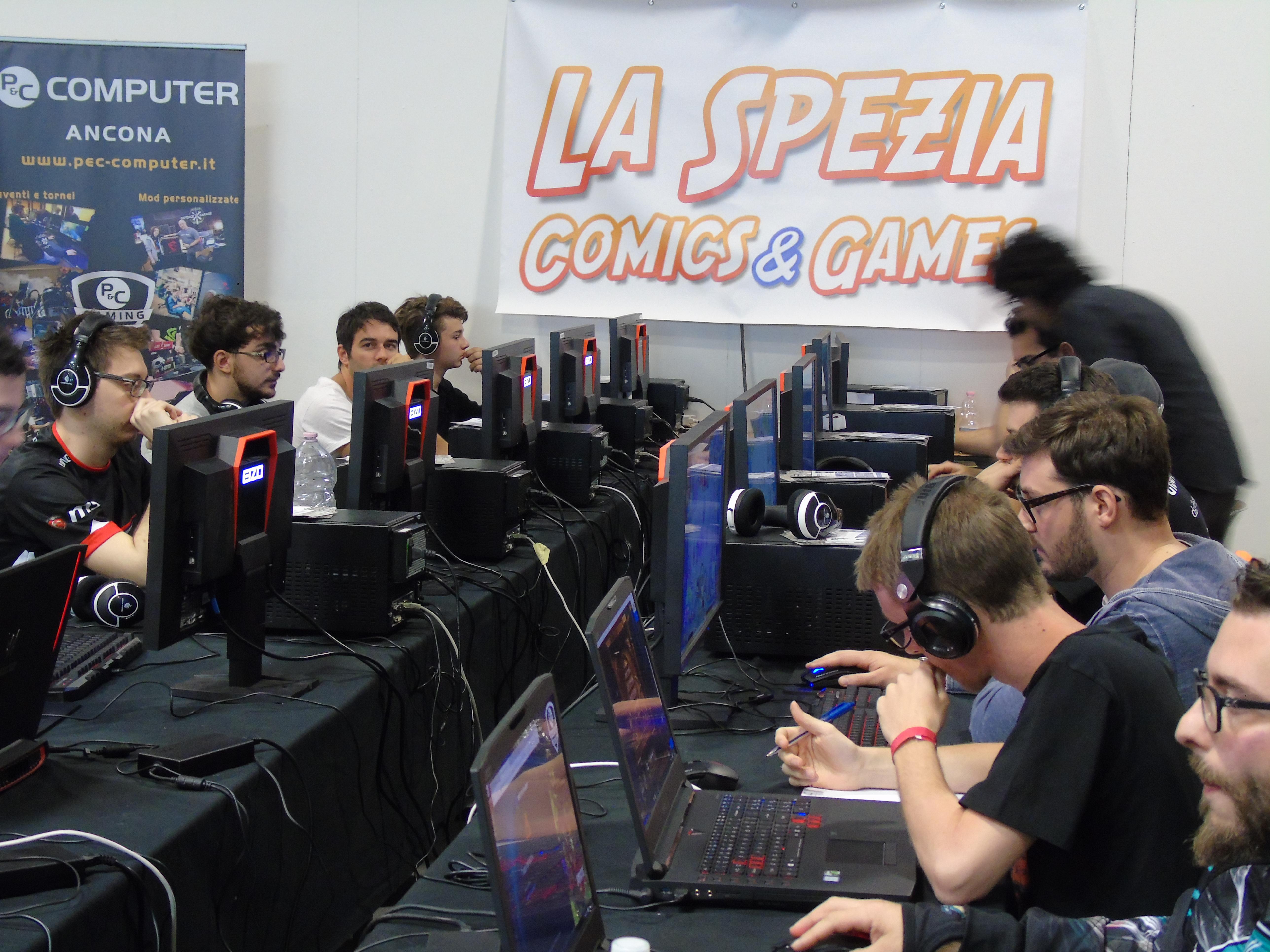 Recap La Spezia Comics & Games