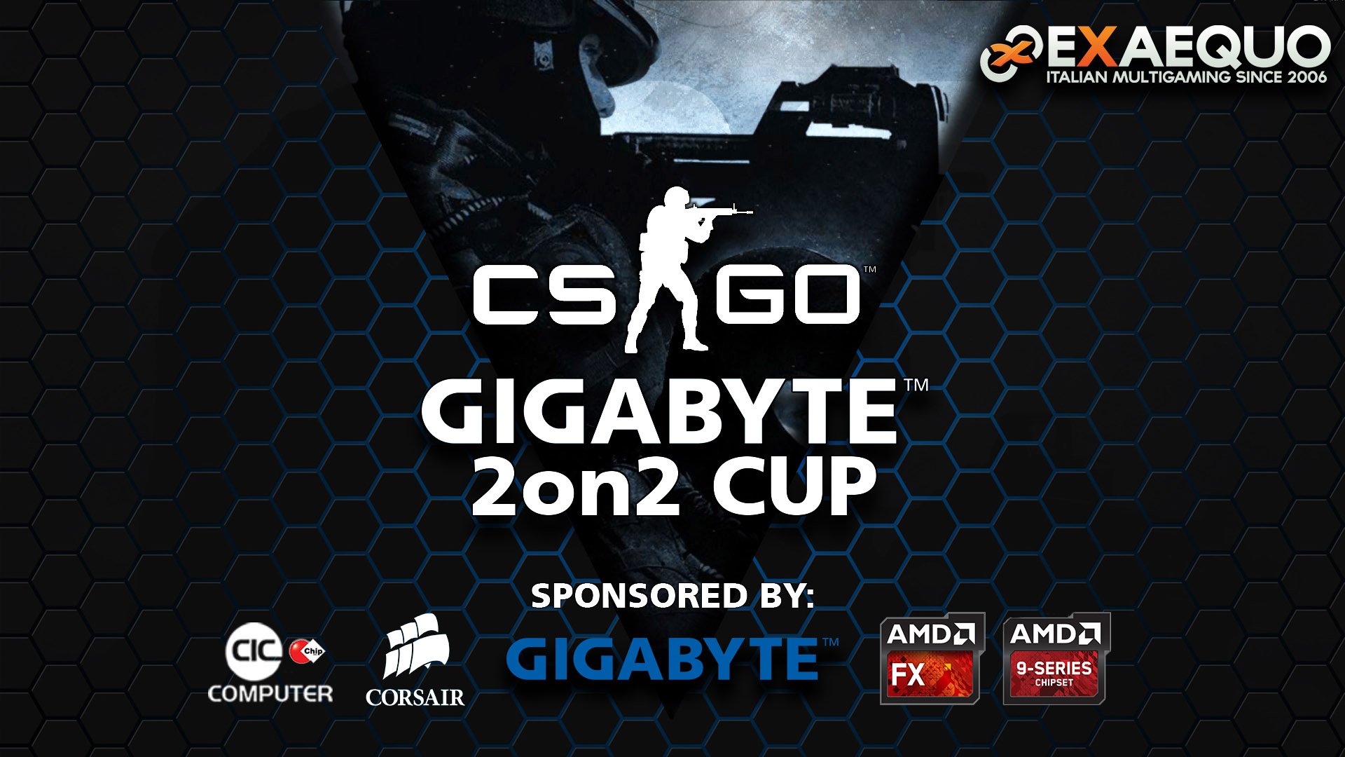 CS:GO 2on2 Gigabyte Cup UPDATED