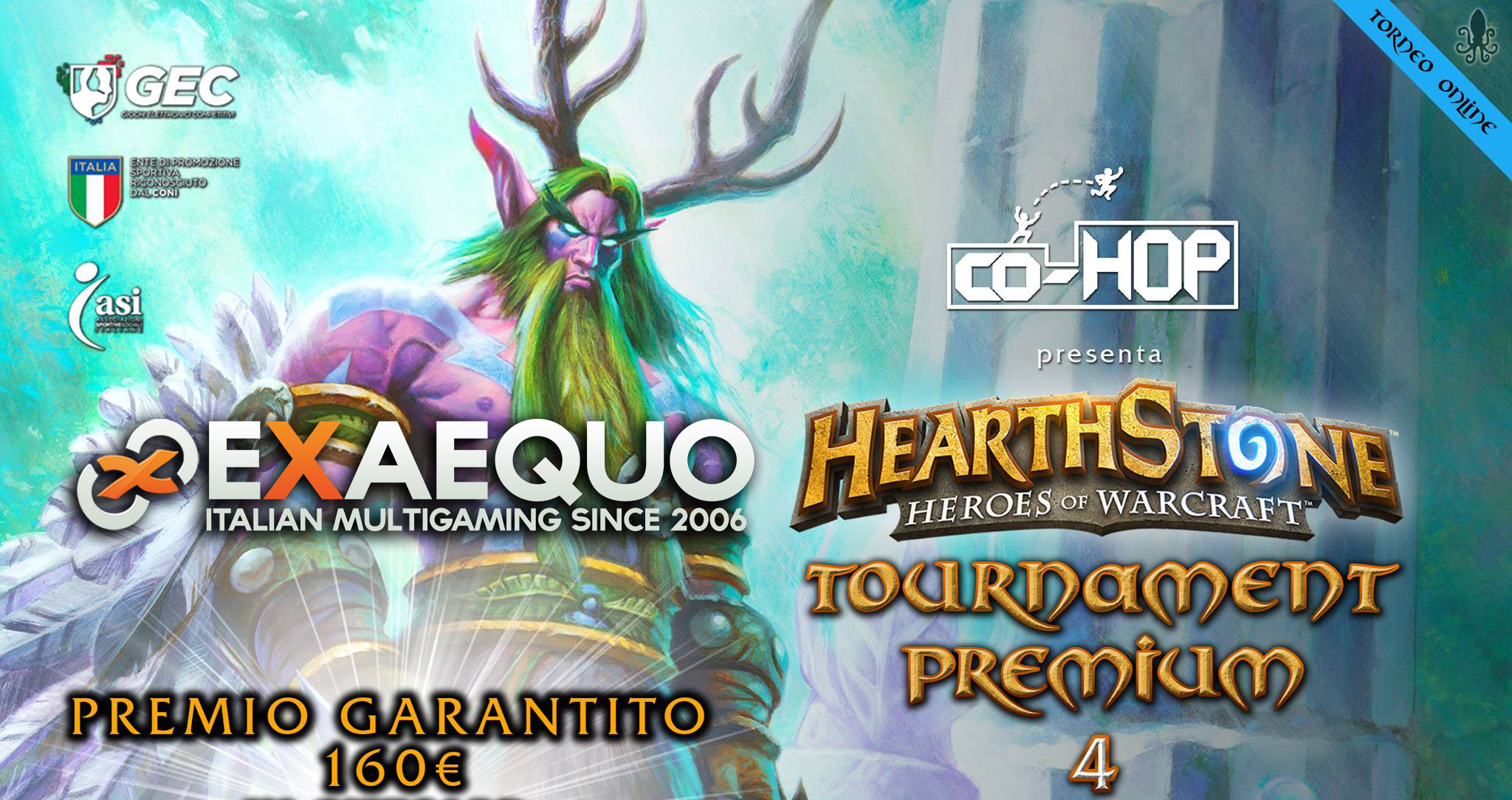 Vittoria all'Hearthstone Co-Hop