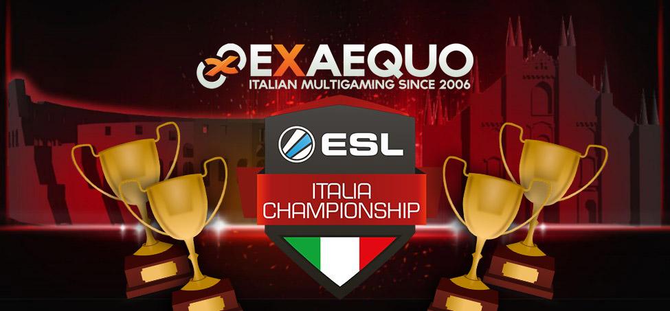 ESL Italian Championship, un trionfo !