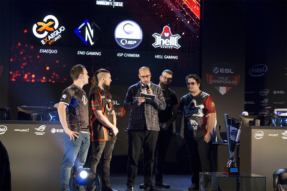 Rainbow Six ESL Italia Championship 2017