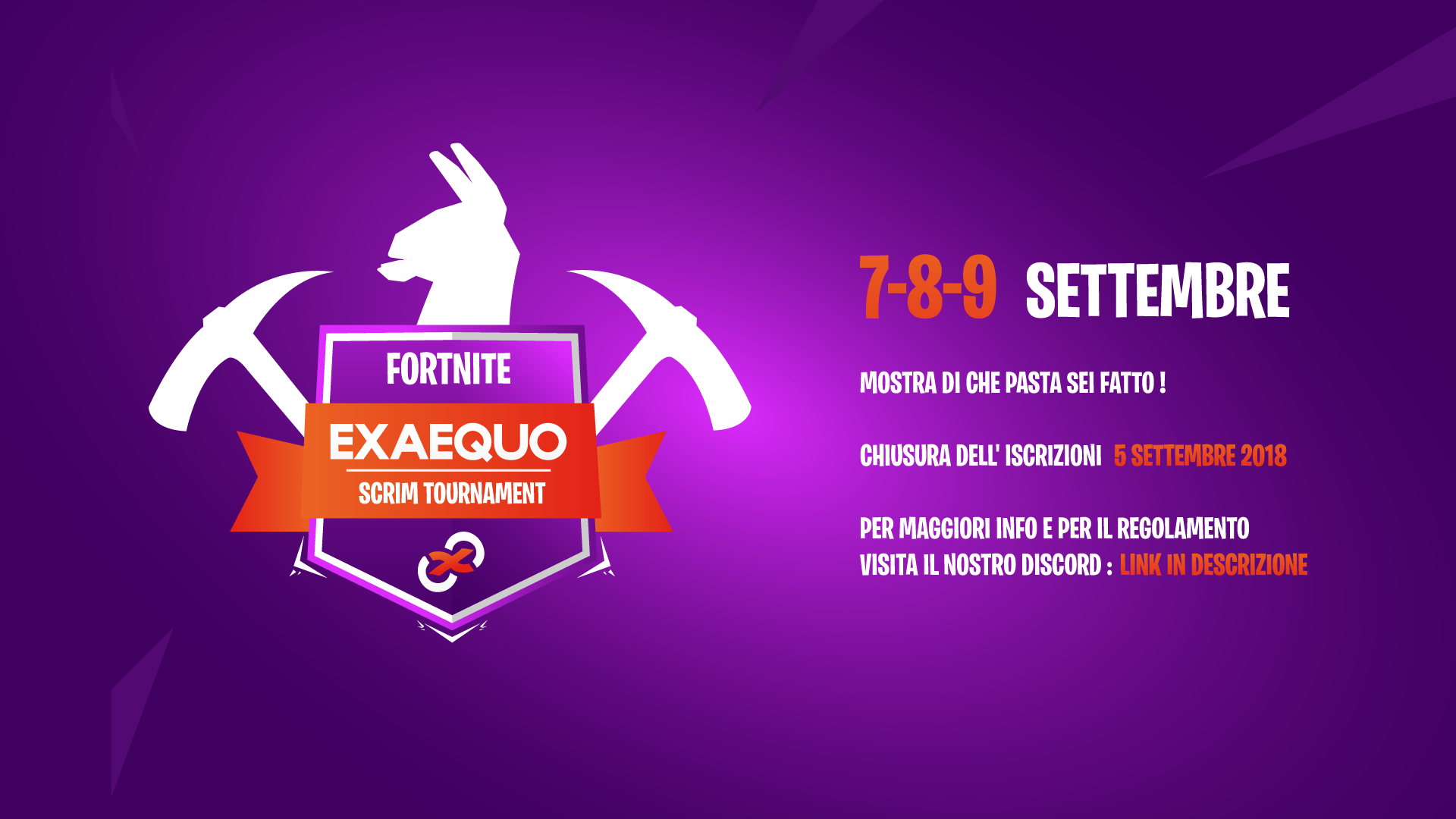 ExAequoItalia Fortnite - Scrim Tournament